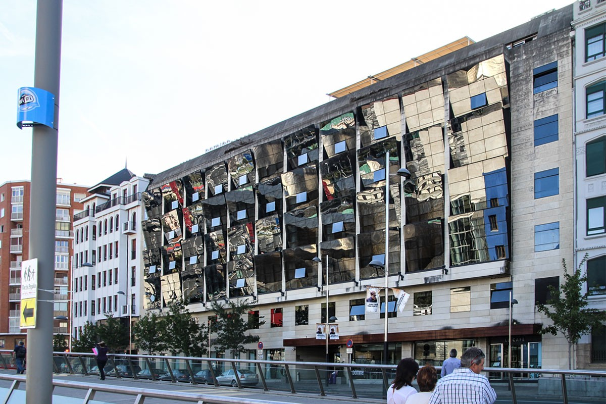 Gran hotel domine arquitectura bilbao - Restaurante hotel domine bilbao ...