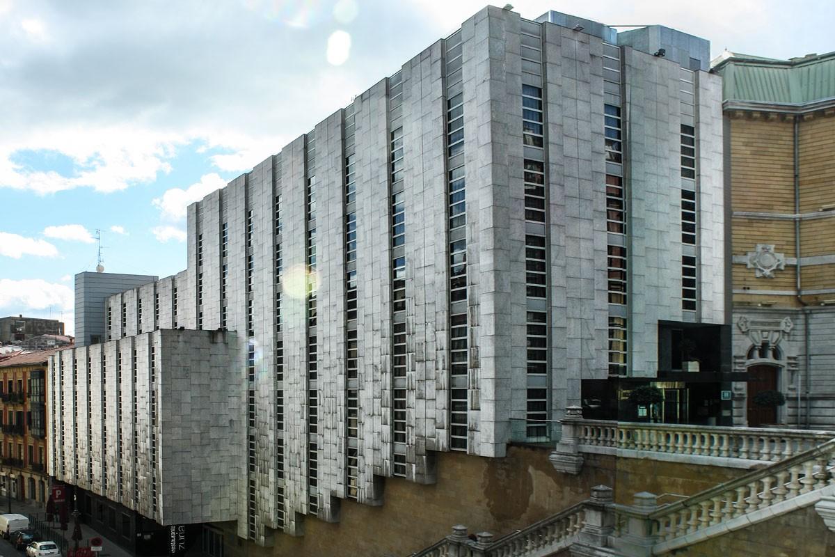 hotel husa jardines de albia arquitectura bilbao